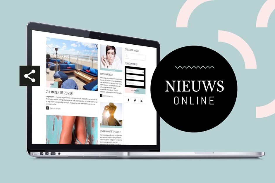 Webdesign Schagen Maggs magazine
