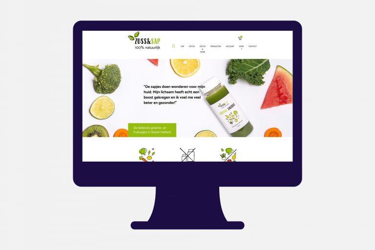 Zussensap Website Schagen